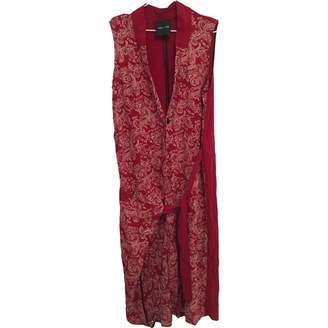 Each X Other Each X Red Linen Dress for Women