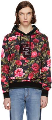 Dolce & Gabbana Pink Rose Hoodie