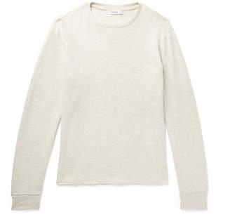 Frame Melange Cotton-Jersey Sweatshirt - Men - Cream