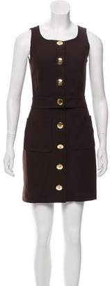 Tory Burch Wool Blend Mini Dress