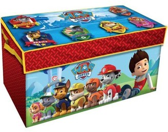Nickelodeon Paw Patrol Oversized Soft Collapsible Storage Toy Trunk