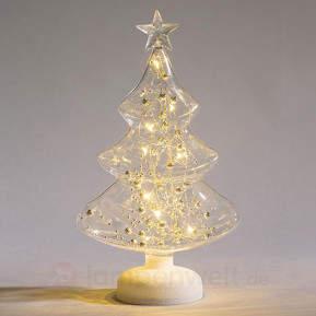 Stilvolle LED-Dekorationsleuchte Turino aus Glas