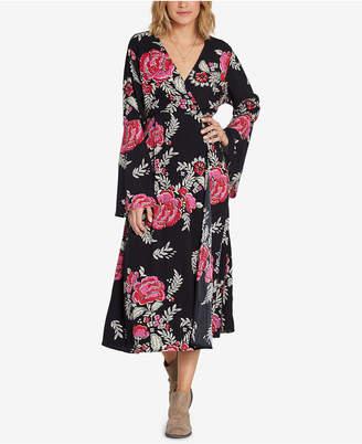 Billabong (ビラボン) - Billabong Juniors' Floral Whispers Printed Midi Dress