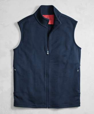 Brooks Brothers Golden Fleece BrooksTech Performance Full-Zip Vest