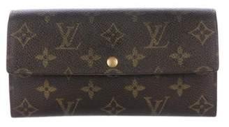 Louis Vuitton Monogram Sarah Wallet Brown Monogram Sarah Wallet