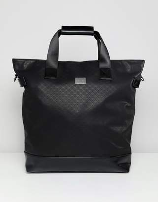 Peter Werth carryall tote in textured black