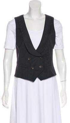 Rag & Bone Wool Shawl Collar Vest
