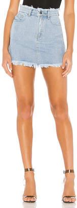 superdown Karen Denim Mini Skirt
