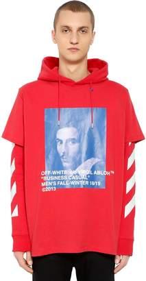 Off-White Bernini Print Layer Sweatshirt Hoodie