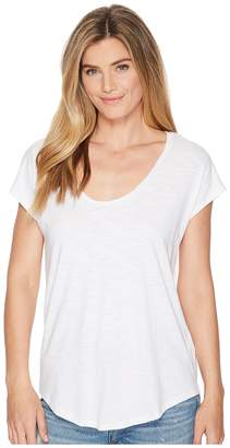 Lilla P Short Sleeve Easy Scoop Neck Women's Clothing