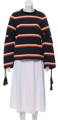Sacai Long Sleeve Striped Top w/ Tags