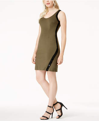 Bar III Snap Bodycon Dress, Created for Macy's