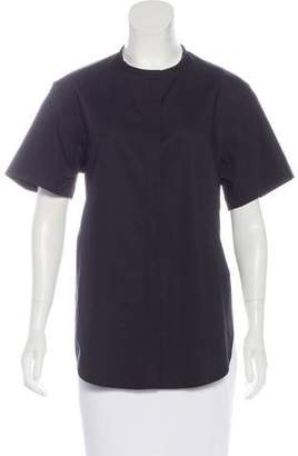 3.1 Phillip Lim Short Sleeve Button-Up Top