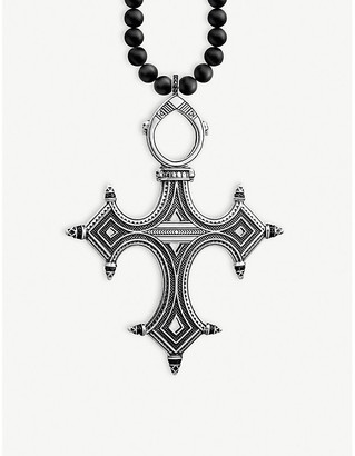 Thomas Sabo Ethnic Cross sterling silver necklace