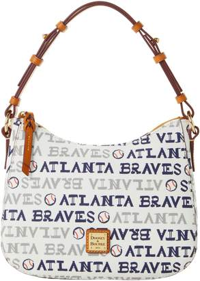 Dooney & Bourke MLB Braves Small Kiley Hobo