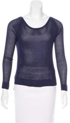 Rag & Bone Mesh Knit High-Low Sweater