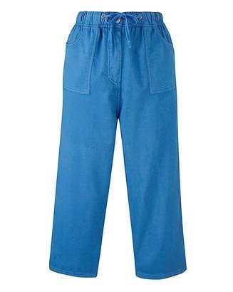 Fashion World Value Cotton Crop Trouser