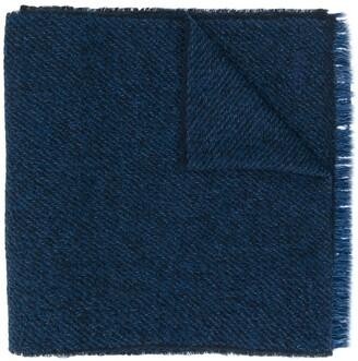 Ermenegildo Zegna two-tone scarf