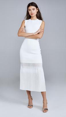 Dion Lee Godet Pleat Dress