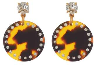 J.Crew J. Crew Lucite Disk Drop Earrings