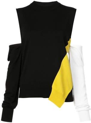 Calvin Klein cold shoulder jumper