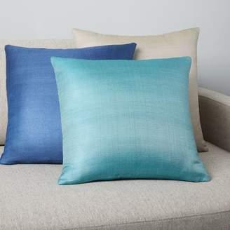 west elm Sari Silk Herringbone Pillow Covers