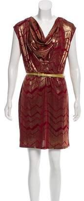 Marc by Marc Jacobs Metallic Mini Dress w/ Tags
