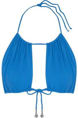La Perla Embellished Bow-Detailed Bikini Top