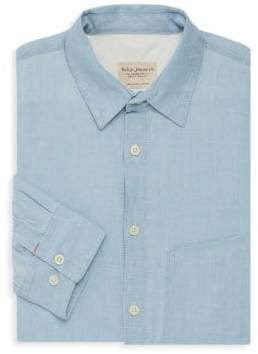 Nudie Jeans Stanley Denim Button-Down Shirt