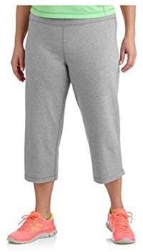 Danskin Womens Plus-size Dri-more Relaxed Capri Pants Gym Walking Yoga Run Errands (2X, )