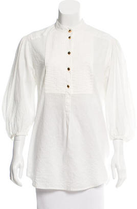 Alice by Temperley Three-Quarter Length Pleated Blouse $65 thestylecure.com