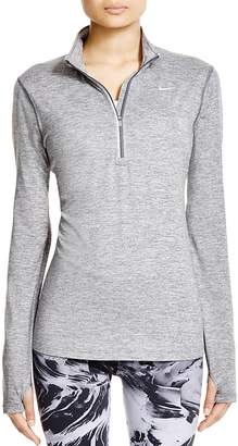Nike Element Zip-Front Top $65 thestylecure.com
