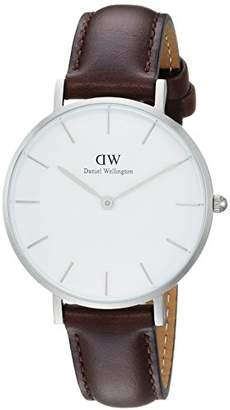 Daniel Wellington Women's Analogue Quartz Watch with Leather Strap DW00100183