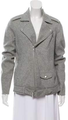 Theory Belted Wool Jacket