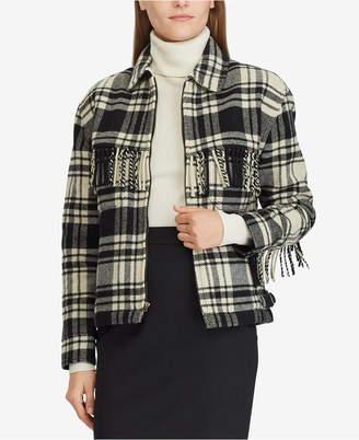 Polo Ralph Lauren Fringe Zip Jacket