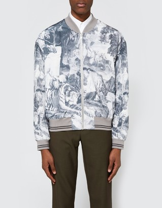 Bomber in Jungle Print $1,665 thestylecure.com