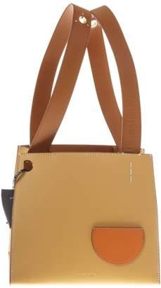 Danse Lente Camel Leather Tote Bag Margot