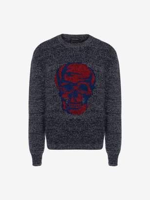 Alexander McQueen Skull Crew Neck Sweater