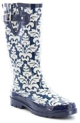 Western Chief Ikat Damask Waterproof Rain Boot