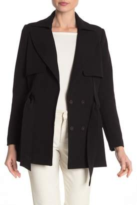 Badgley Mischka Belted Jacket