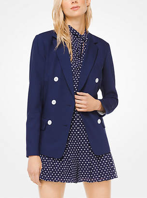 Michael Kors Stretch-Wool Blazer