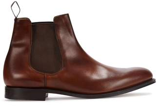 Church's Houston Walnut Leather Chelsea Boots