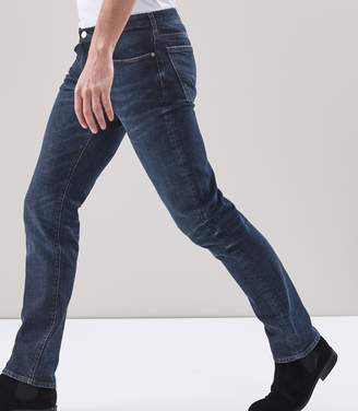 Reiss Osjuni Rinse Wash Denim Jeans