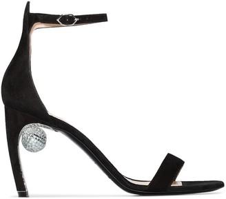 Nicholas Kirkwood Maeva embellished-heel sandals