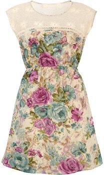 Belle Époque Rose Dress