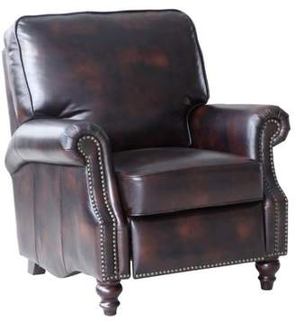 Lazzaro Leather Scardale Manual Recliner Lazzaro Leather