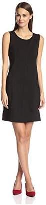 Society New York Women's Seamed Shift Dress