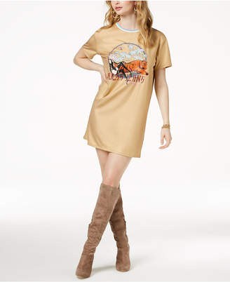 GUESS Tiger Graphic T-Shirt Dress