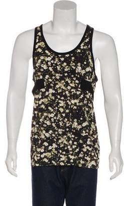 Givenchy Sleeveless Floral Print T-Shirt