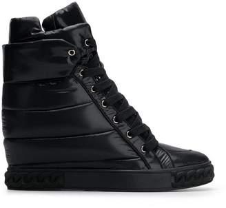 Casadei padded wedge sneakers